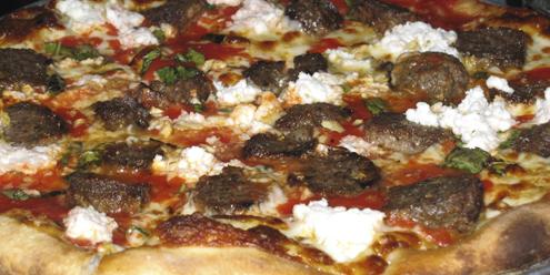 Black Sheep Coal Fired Pizza, not half-baaaaaaad