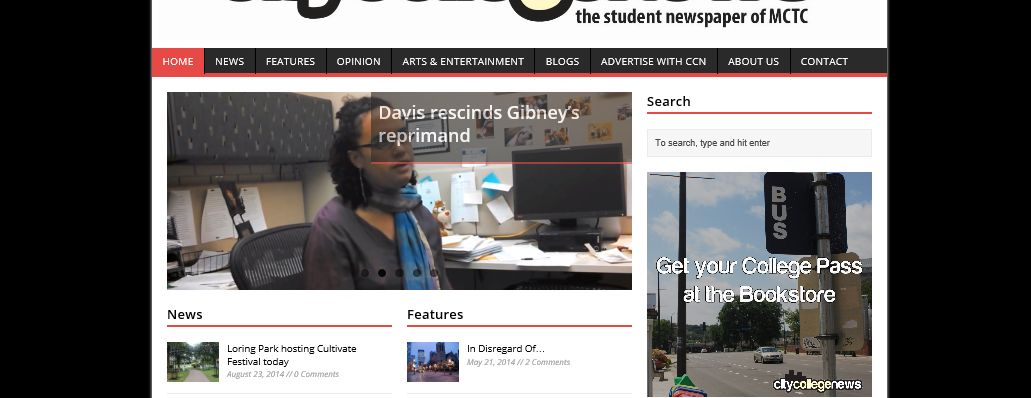 City College News website gets a new look