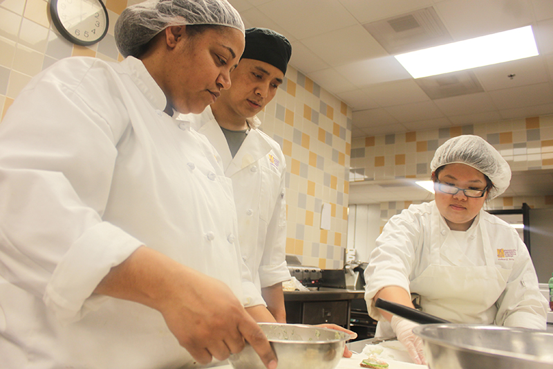 The median wage of a Culinary Arts graduate is $12.23. (Photo: Gabe Hewitt/City College News)