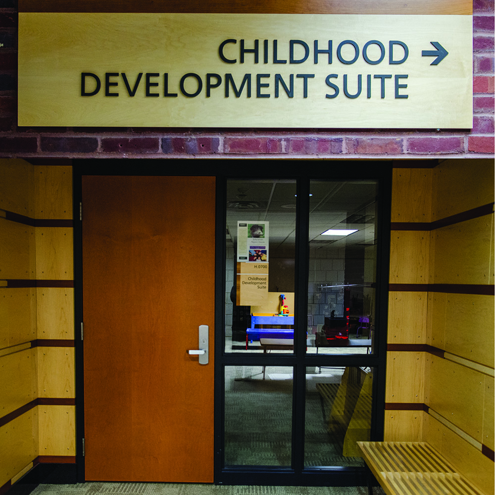 The+Early+Childhood+Development+department+uses+a+mock+daycare+facility+as+a+lab+in+the+Helland+Center+basement.+%28Photo%3A+Sydney+Foster%2FCity+College+News%29