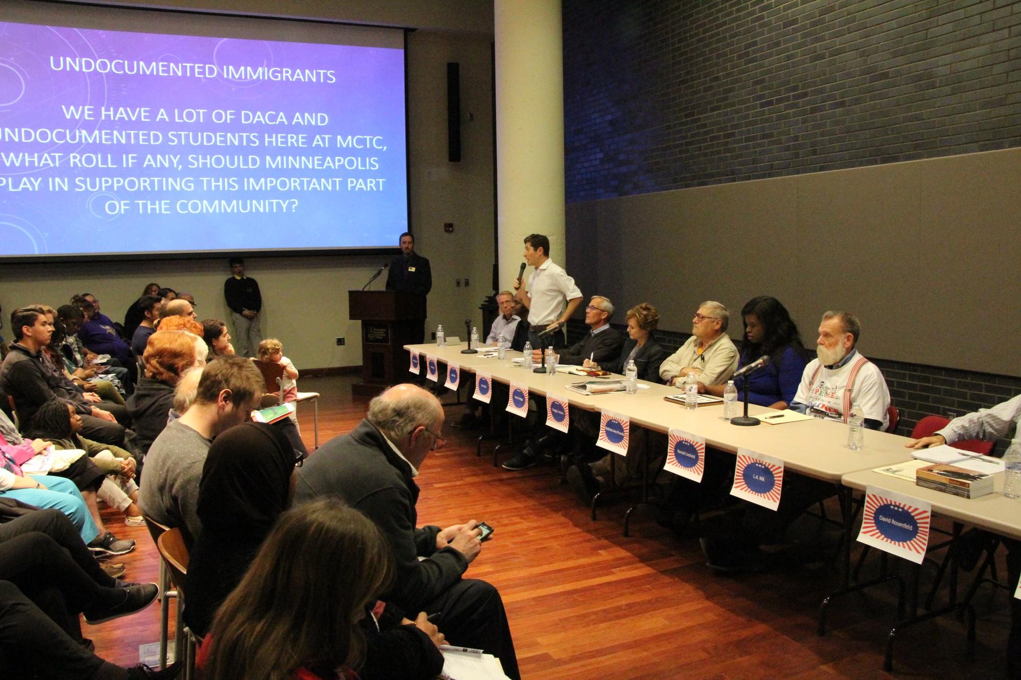 Fringe candidates make mayoral forum spicy
