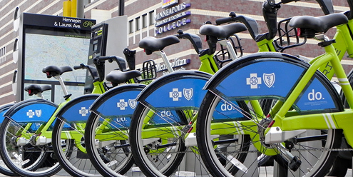 Nice Ride Minnesota, a new way to commute
