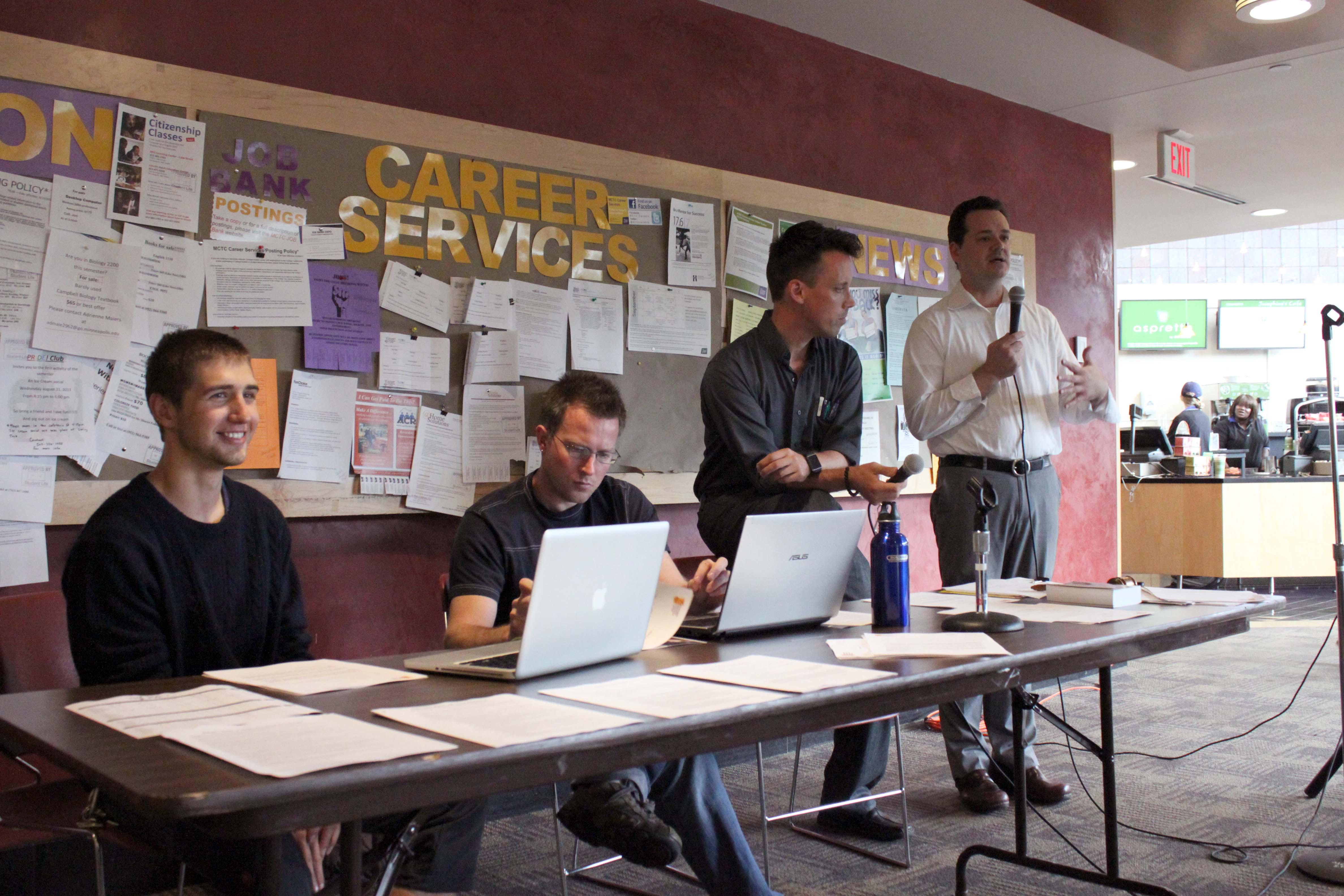 Student Senate's Last Open Forum of the Semester