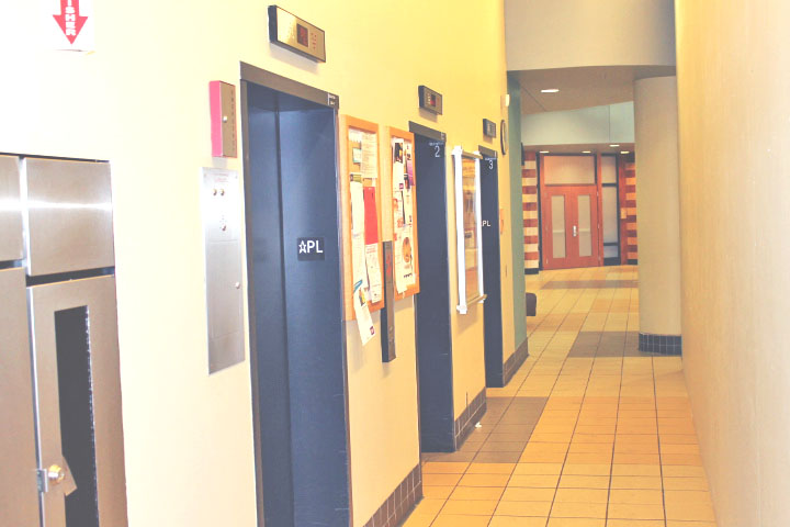 New elevators prompt students to use stairs