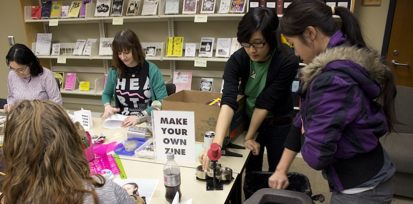 Zines: DIY publishing to the people