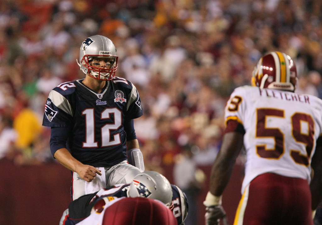 Patriots quarterback Tom Brady had a sub-par season in 2013-2014. (Keith Allison/KeithAllisonPhoto.com)