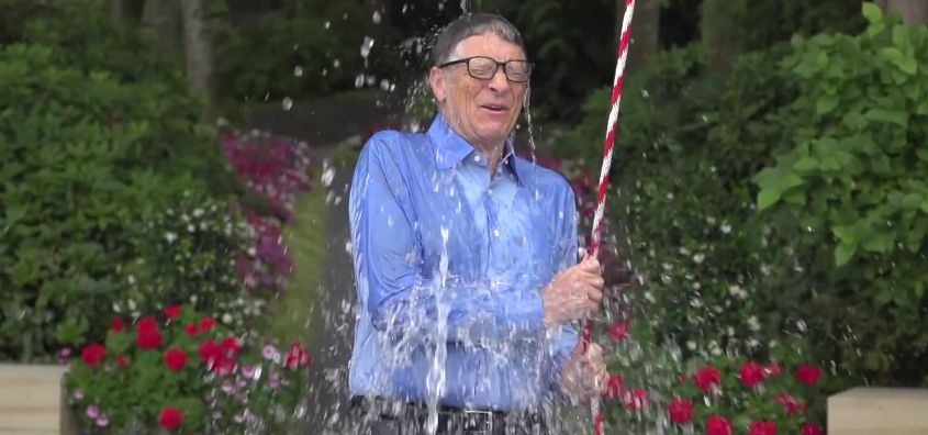Microsoft founder Bill Gates had an elaborate challenge. (YouTube)