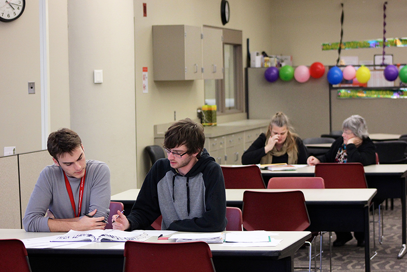 Learning Center provides students with extra studying opportunities