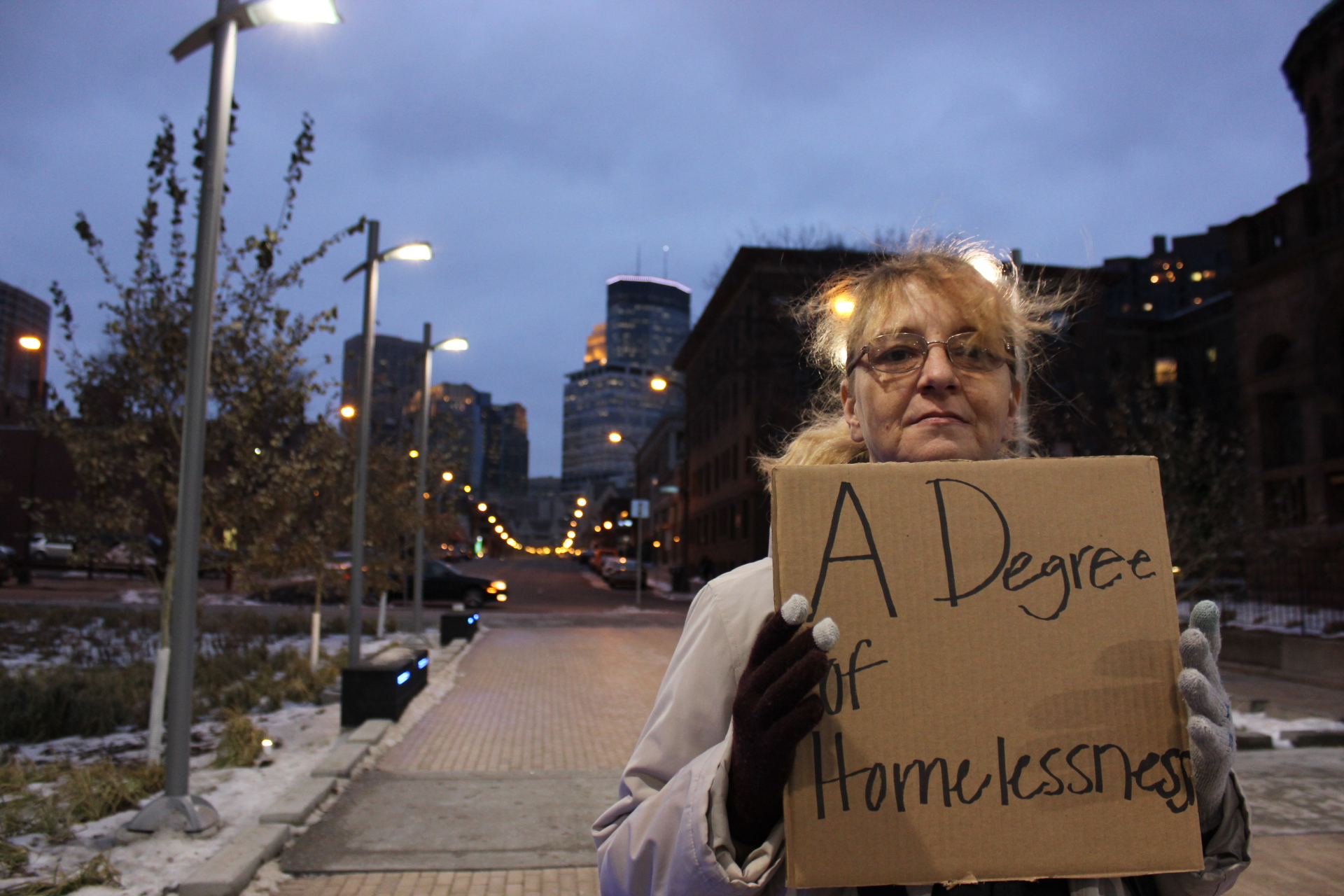 A degree of homeless
