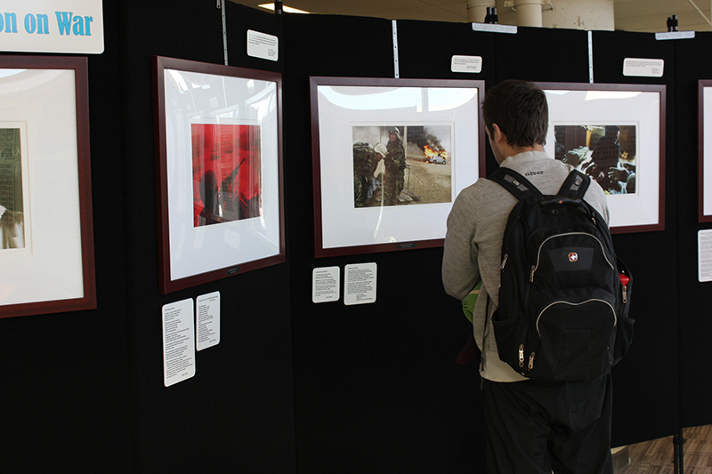Touring war exhibit stops at MCTC