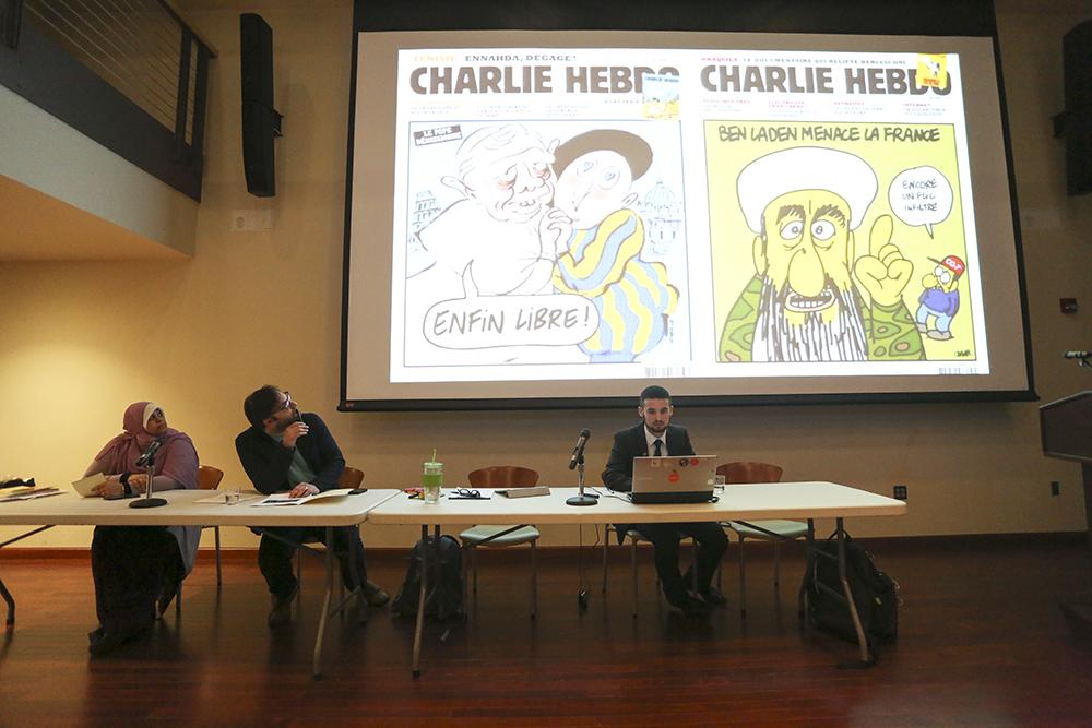 Muslim Student Association hosts Charlie Hebdo forum