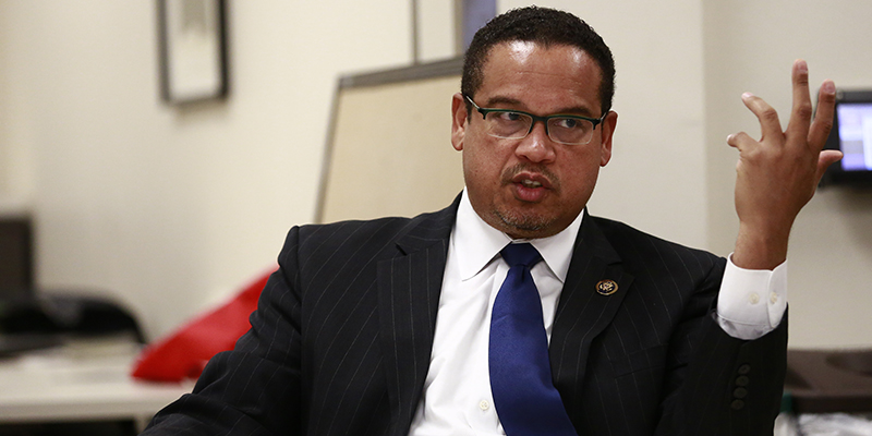 Rep. Ellison calls for student movement for debt-free college