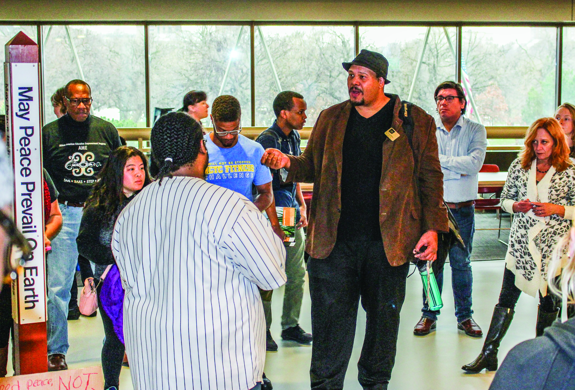 Administration struggles to respond to anonymous reports of hate speech on campus
