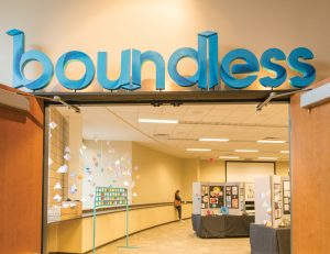 Boundless Design Show featured 47 graphic and web designers. Photo by Jessiena Lake
