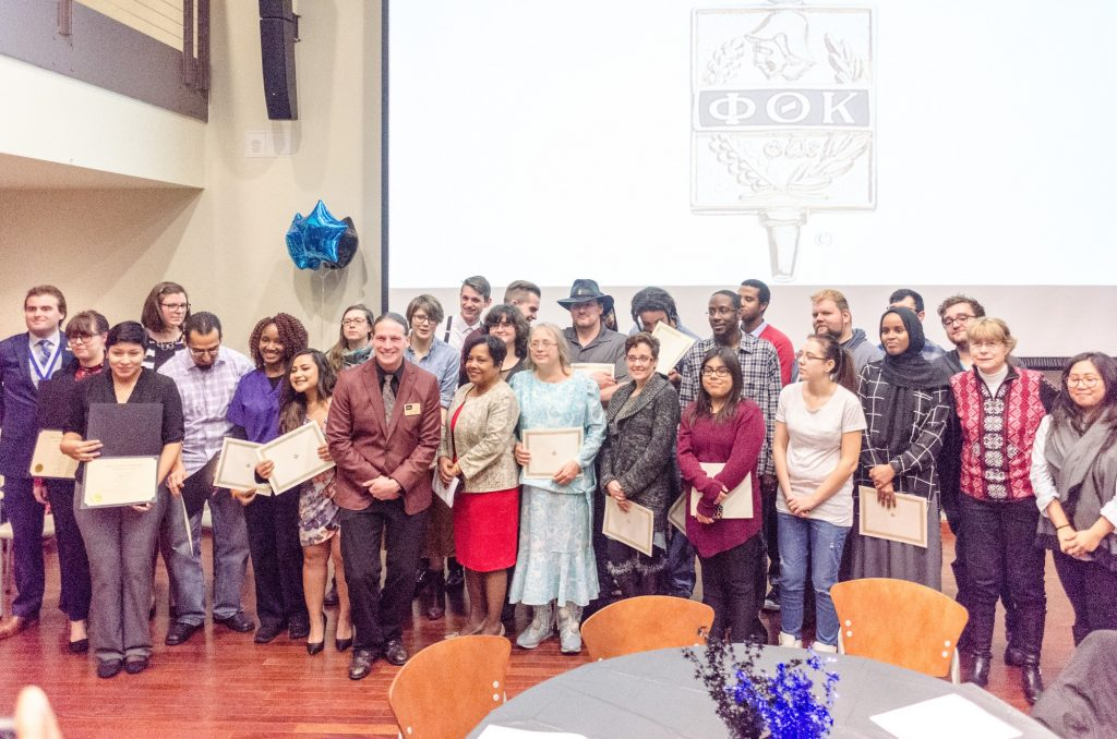 Phi Theta Kappa inducts 73 students into honor society