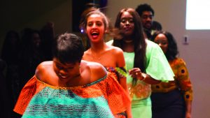 African Night shows off fashion, food and music