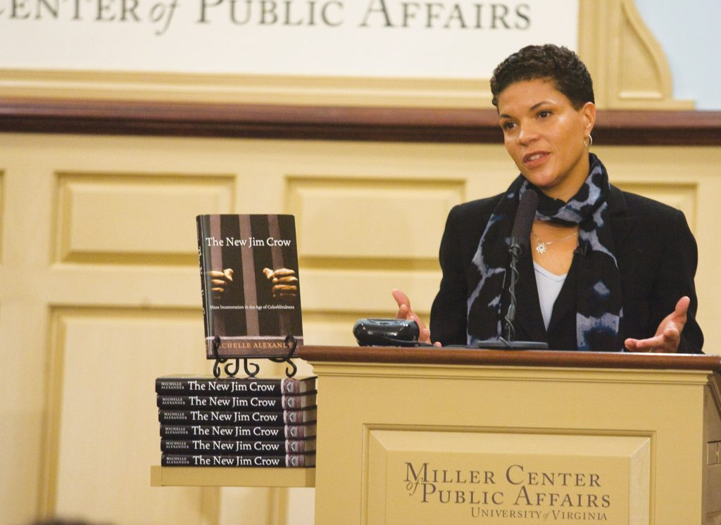 Michelle+Alexander%2C+the+author+of+The+New+Jim+Crow%2C+gives+a+book+talk+at+the+University+of+Virginia.+Photo+credit%3A+Wikimedia+Commons