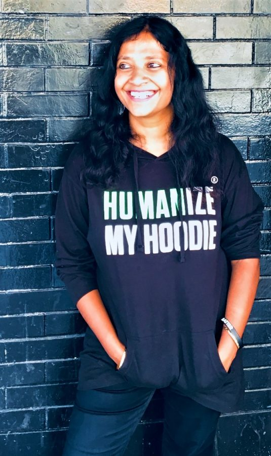 Humanize My Hoodie's Director of Ally Management, Seema G. Pothini
